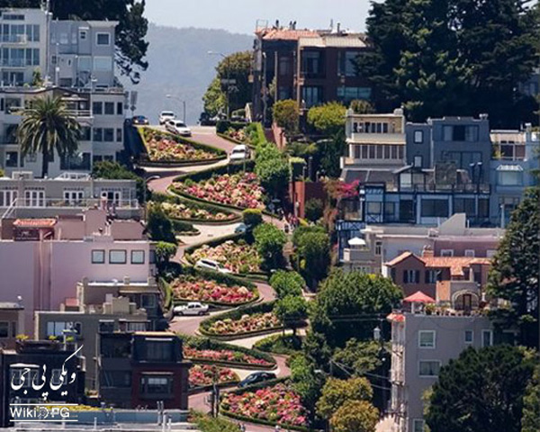 خیابان-لامبورد-در-سانفرانسیسکو