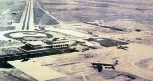 علت نامگذاری فلکه فرودگاه در شیراز+ تصویر فرودگاه شیراز در سال ۱۳۰۸