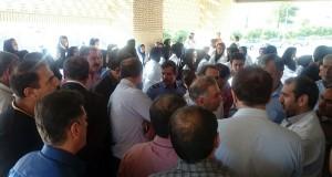 گزارش تصویری از اعتراض مردم ممسنی به بازداشت جراح این شهر